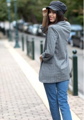 Καρό blazer