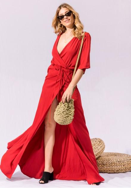 Αέρινο Maxi Φόρεμα