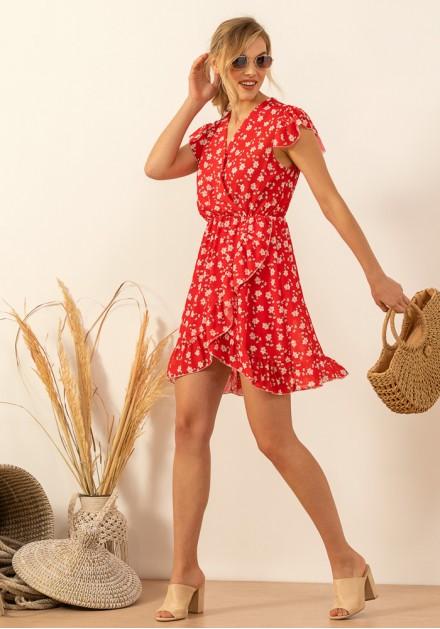 df58377ba037 Φόρεμα floral αέρινο ...