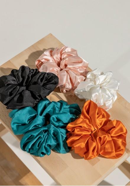 Scrunchies fluffy 2 τεμάχια
