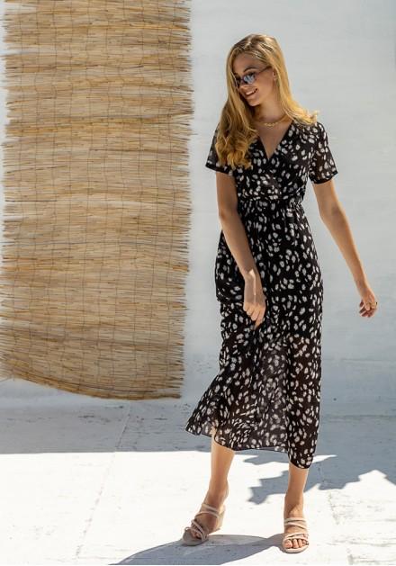 Φόρεμα με μαργαρίτες