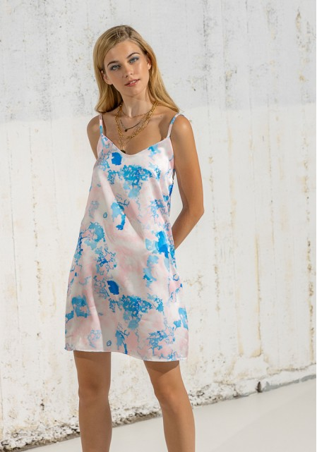 Φόρεμα satine raibow