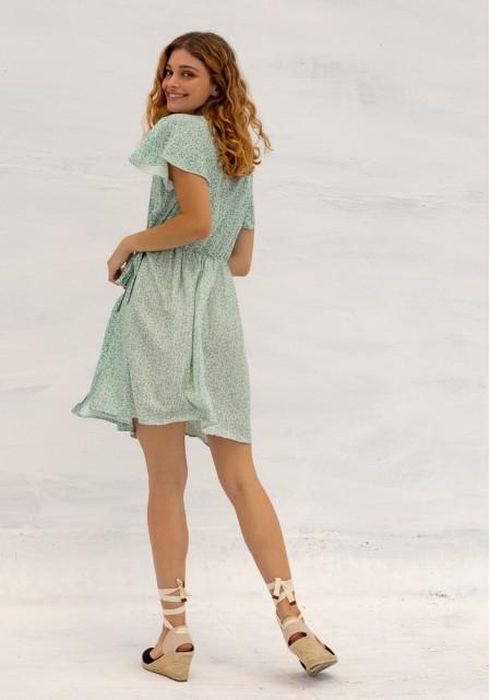Φόρεμα floral φάκελος