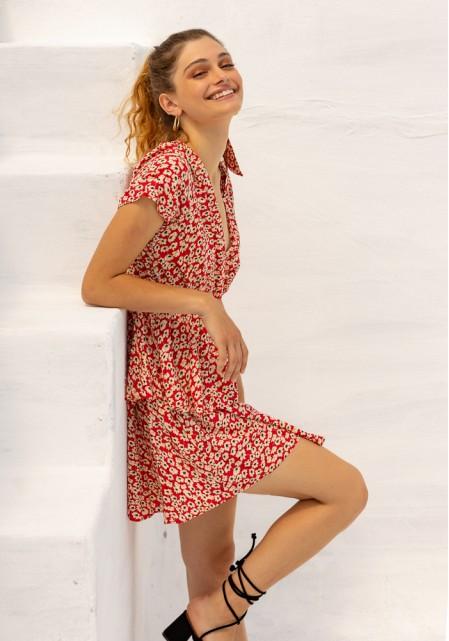 Φόρεμα floral αέρινο