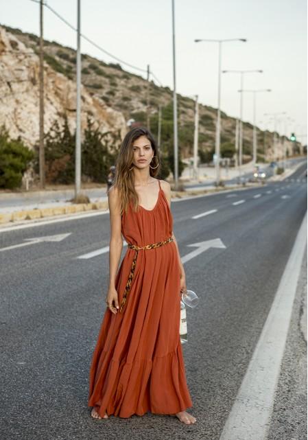 Φόρεμα maxi αέρινο