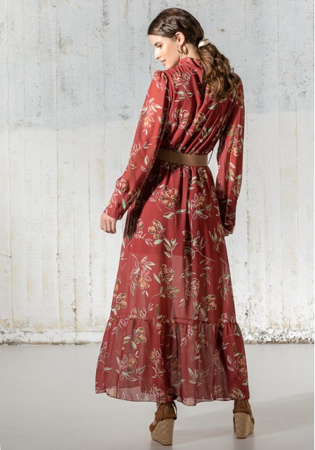 Φόρεμα floral maxi