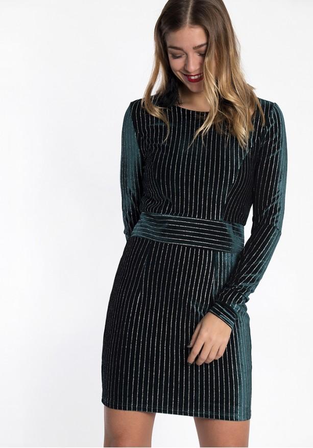 Mini glitter φόρεμα