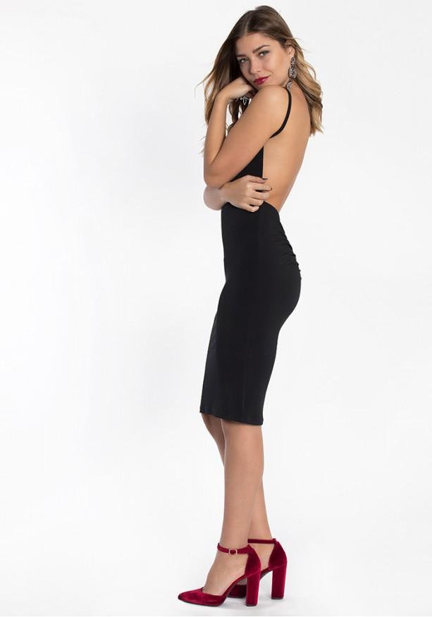 Midi φόρεμα Εξώπλατο