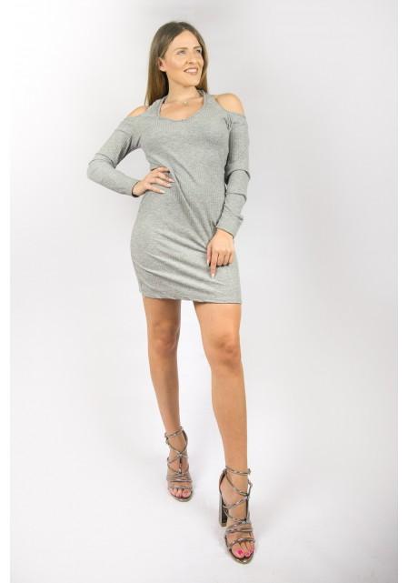 Off shoulder φόρεμα