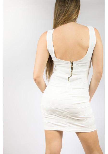 Φόρεμα βισκόζ ελαστικό