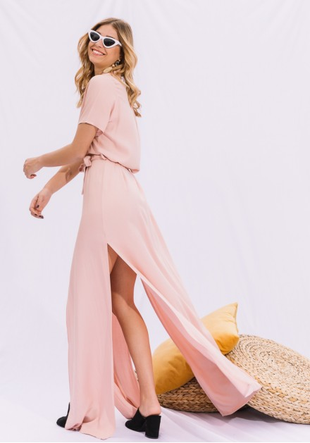Maxi Αέρινο Φόρεμα