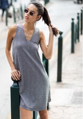 Καρό φόρεμα