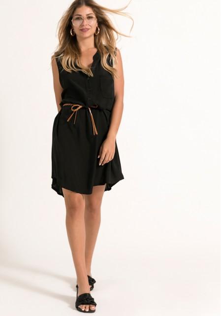Αμάνικο αέρινο φόρεμα