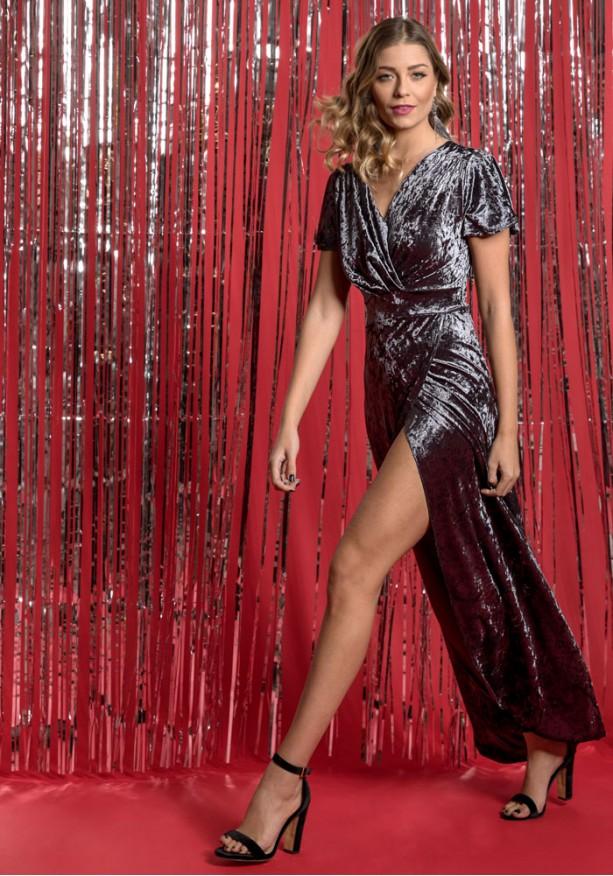 Maxi φόρεμα κρουαζέ