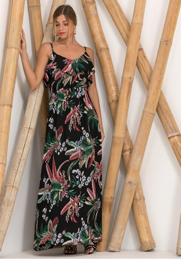 Αέρινο μάξι φόρεμα