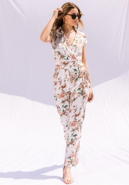 Ολόσωμη Floral Φόρμα