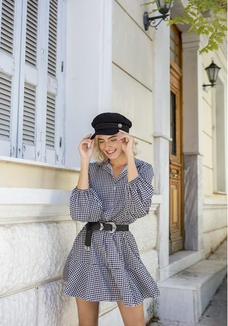 Φόρεμα mini καρό