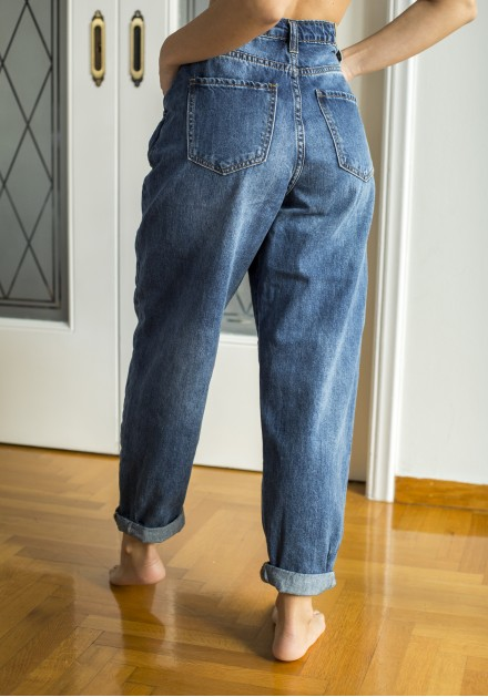 Jeans παντελόνι slouchy