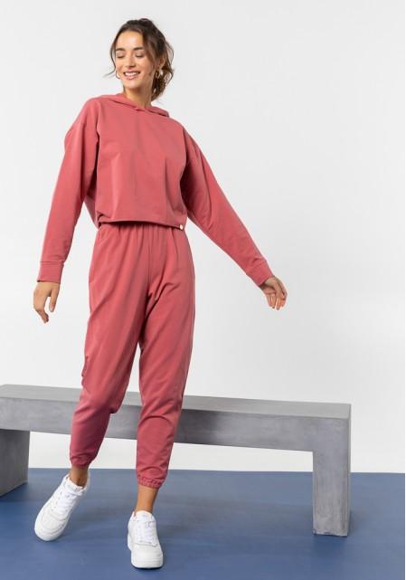 Σετ παντελόνι & φούτερ με κουκούλα