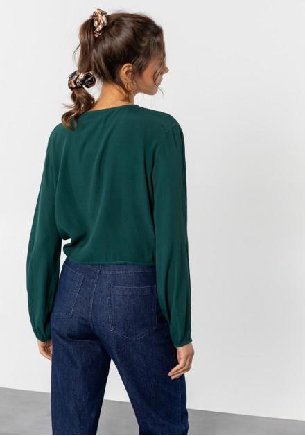 Jeans παντελόνι ψηλόμεσο