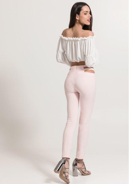 Υφασμάτινο ψιλόμεσο παντελόνι