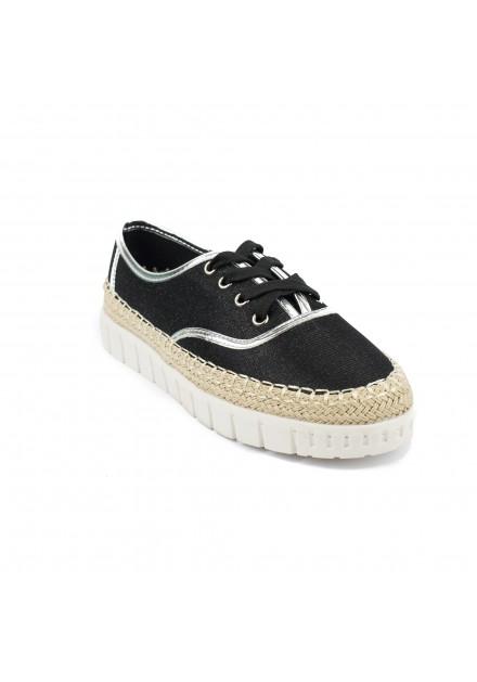 Μαύρο sneaker Aby 004