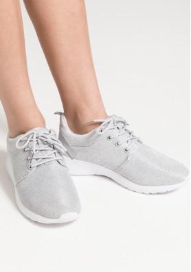 Ασημί sneakers