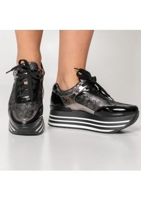 Metallic sneaker δίπατο