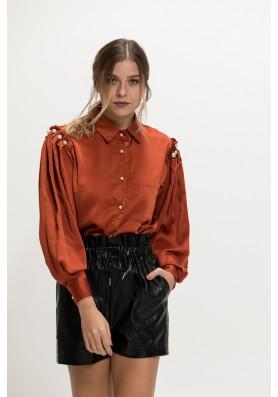 Σατέν πουκάμισο