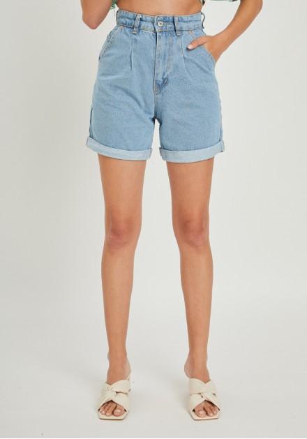 Σορτς jeans ψιλόμεσο