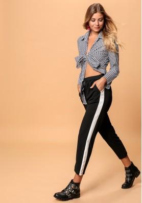 Παντελόνι με ρίγα